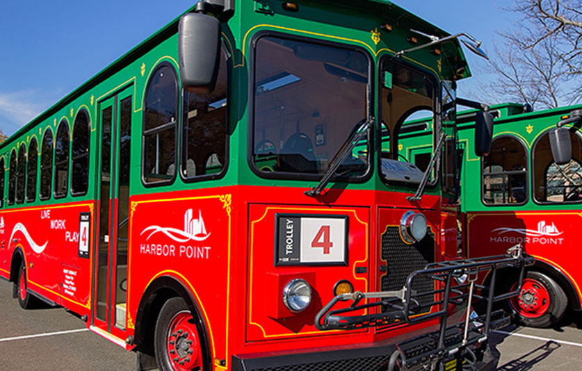harbor point trolley